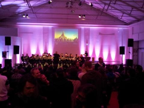 En symfoniorkester framförde fin musik